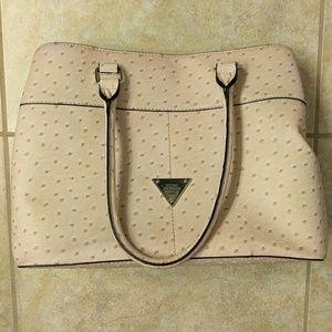 Light pink Guess purse
